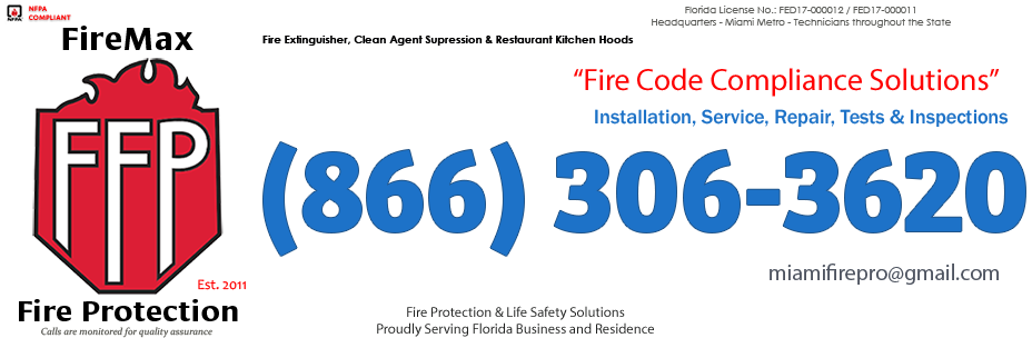 Pembroke Pines, Florida Fire Extinguisher Company